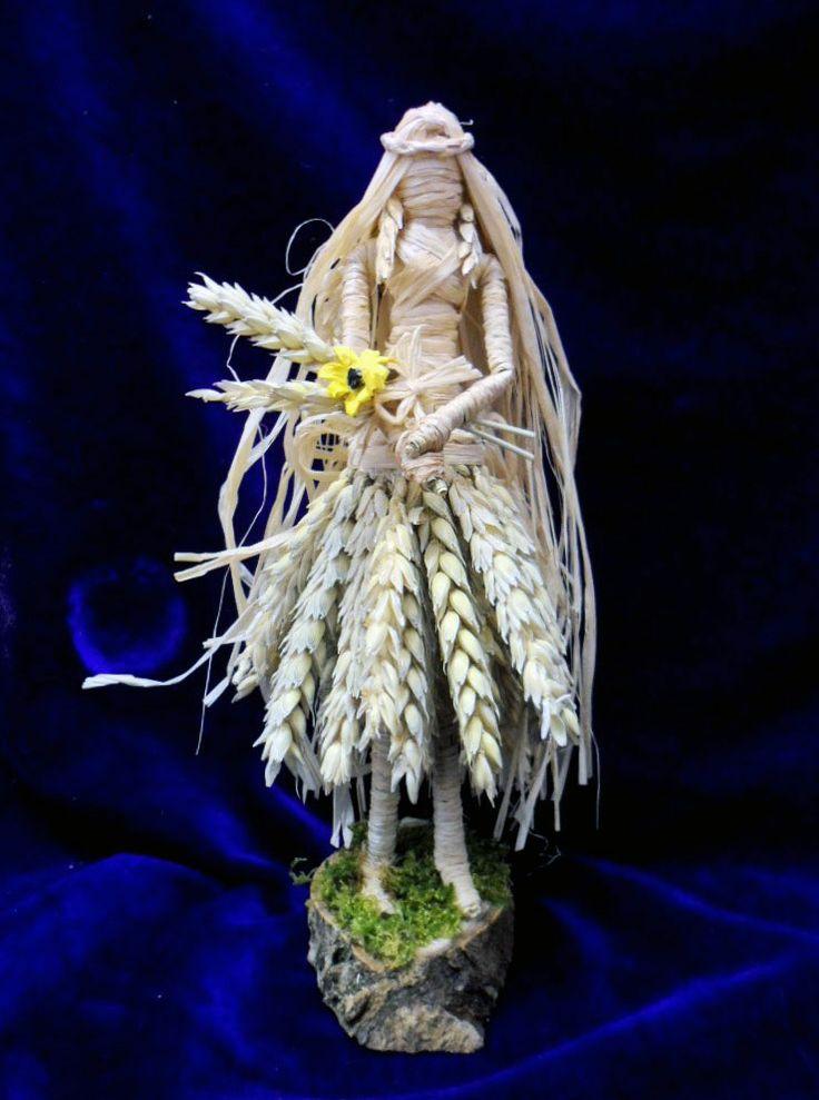 Lammas Corn Mother handmade by Rowan Duxbury positivelypagan.com