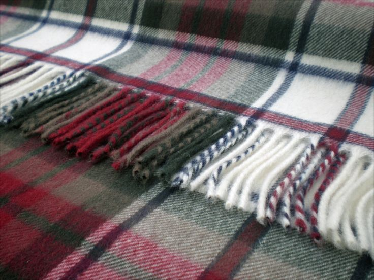 This range of traditional tartan throw blankets from Bronte is woven from wonderfully soft Merino Lambswool. Be sure to compare with our range of tartan throw blankets made from Pure New Wool, which o