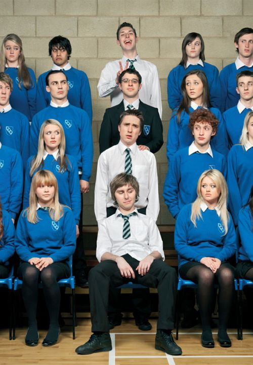 The Inbetweeners, not aimed at oldies like me but some hilarious moments. Even the film was pretty decent.