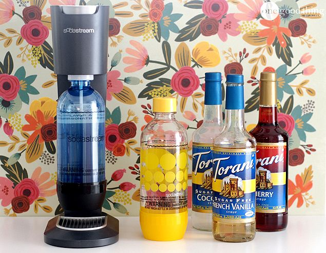 All you need is a soda maker & Torani flavor to sweeten up your home.