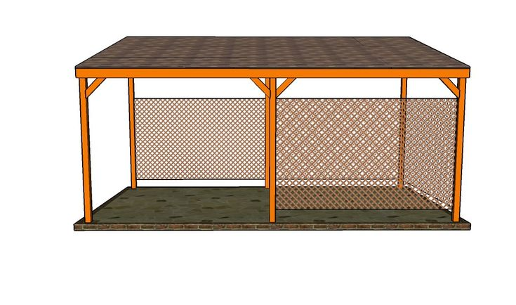 17 best ideas about lean to carport on pinterest lean to for Lean to carport plans