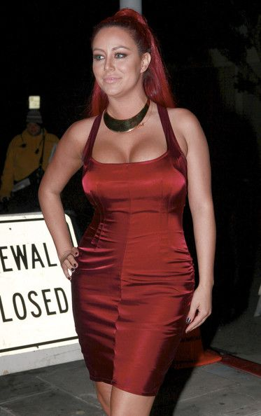 Aubrey O'Day Photos Photos - Aubrey O'Day arrives at the OK Magazine pre grammy party at Tru nightclub in Hollywood. - Kendra Wilkinson and Hank Baskett at Tru Nightclub