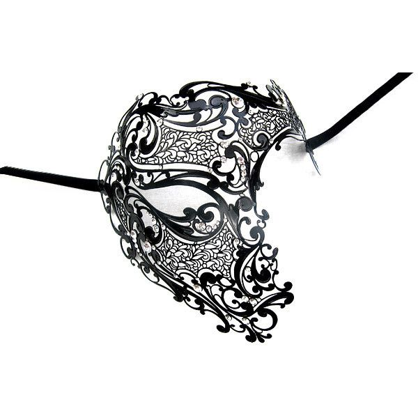 Lucia Italian Mask Collection Mask Artwork Collections for masquerade balls, costume balls, mardi gras masks,carnival masks. found on Polyvore