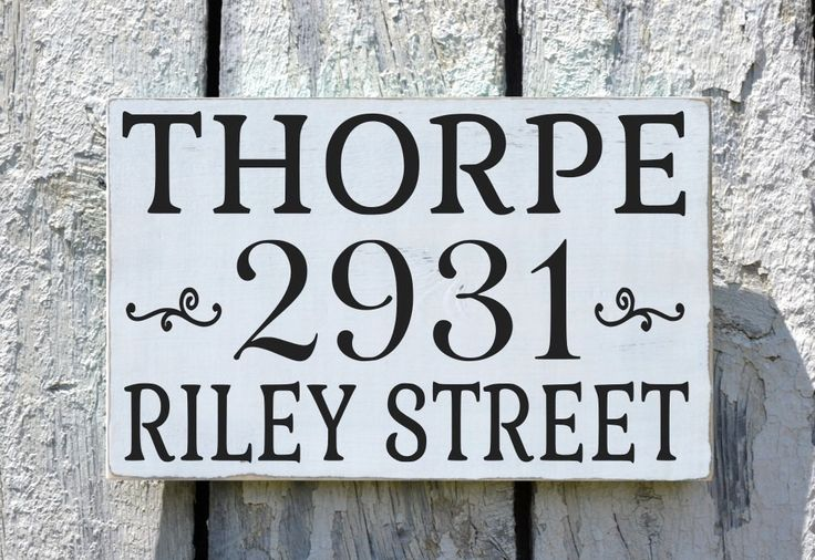 25 best ideas about address signs on pinterest address. Black Bedroom Furniture Sets. Home Design Ideas