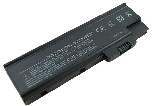 Laptop Battery for Acer aspire 1410 1680 1690 2300 3000 4000 4010   Rechargeable laptop li-ion battery for ACER 4000,8cell 14.8V 4400mAh