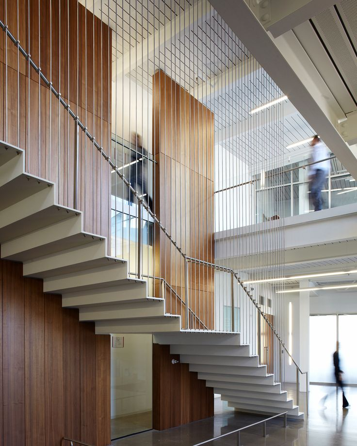 office lobby with stairs - Google Search