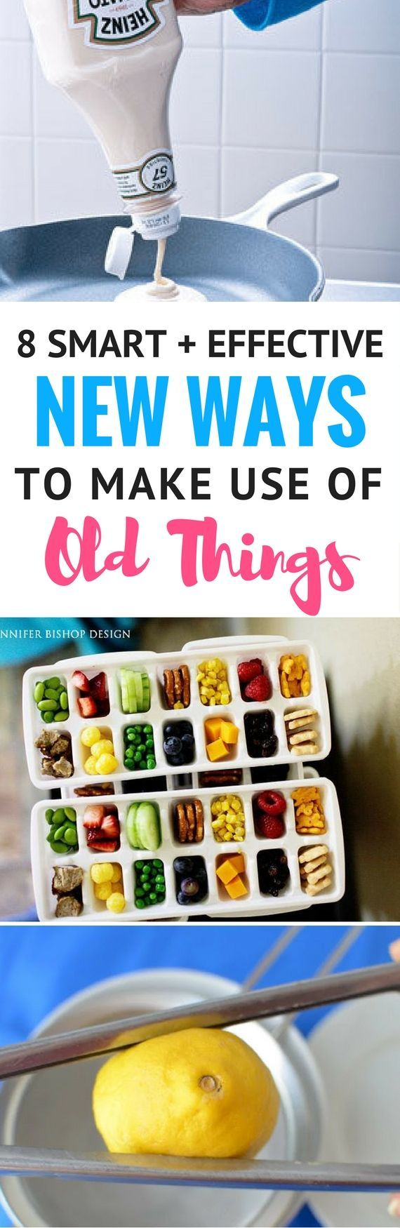 8 Creative And Fun New Ways To Use Old Things - Looking for ways to reuse ordinary things? Then these DIY Ideas will be perfect for you. You won't believe how AMAZING daily items can be. Really fantastic life hacks and home hacks.
