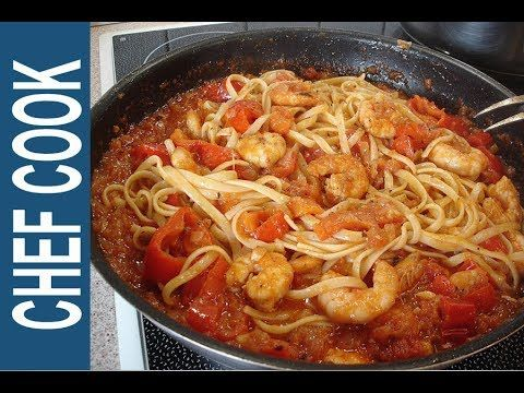 ΓΑΡΙΔΟΜΑΚΑΡΟΝΑΔΑ Η ΓΝΗΣΙΑ   Shrimp Pasta Recipes - YouTube