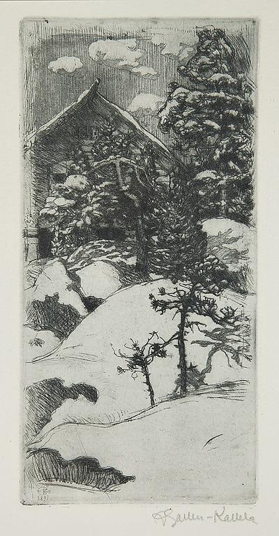 Gallen-Kallela Talvinen Kalela