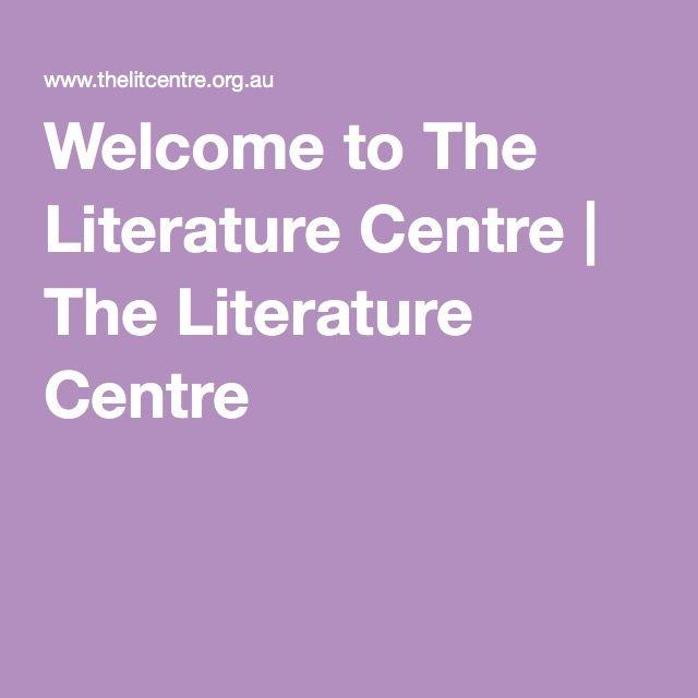 Welcome to The Literature Centre | The Literature Centre
