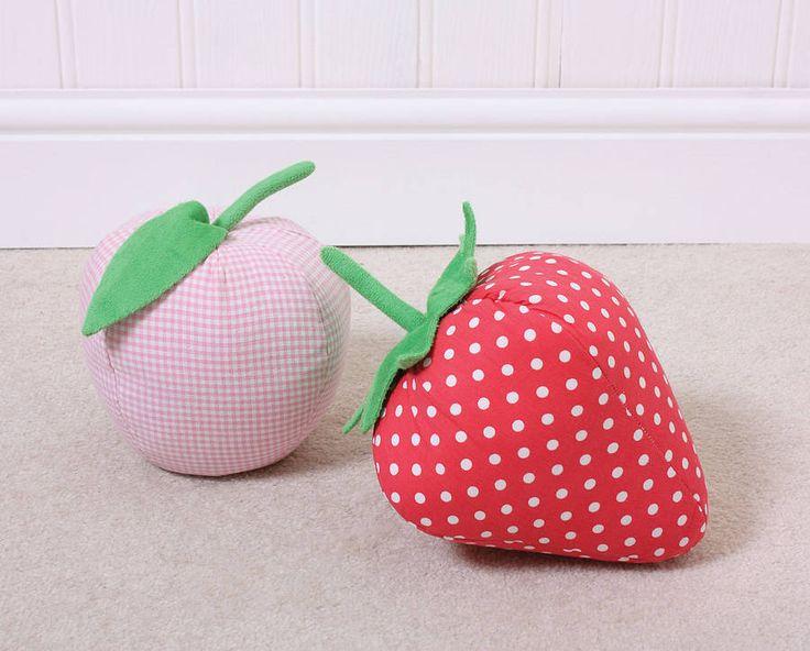 fruit shaped doorstops