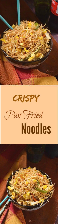 Delicious Pan fried crispy noodles!