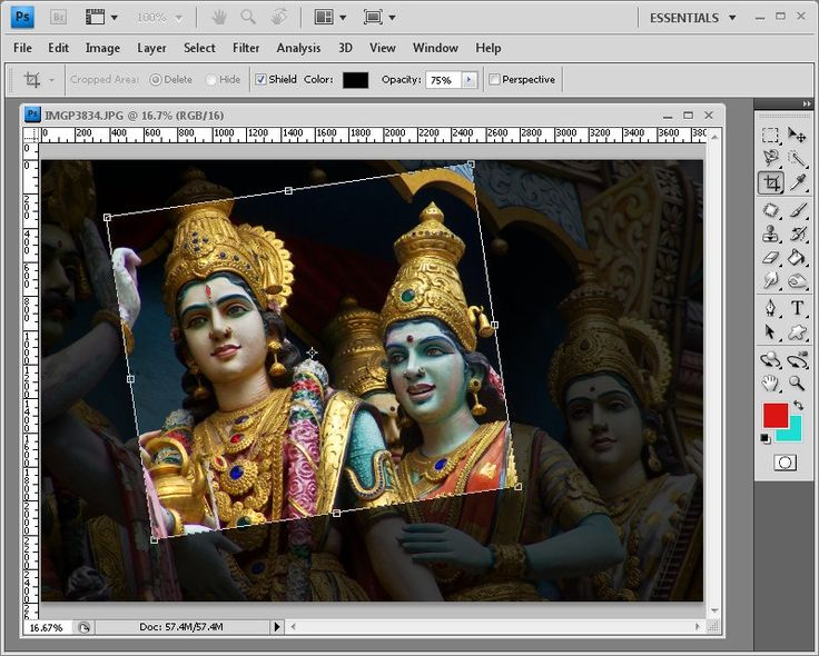 5 Secrets of the Photoshop Crop Tool