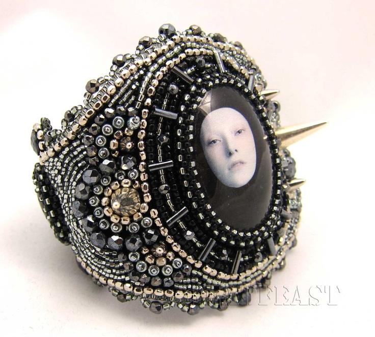 spiked bracelet by  Mana