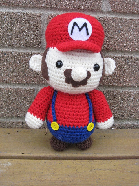 Amigurumi Hongo Mario Bros : 1000+ images about Cool toys, figures, plushies!! WANT! on ...