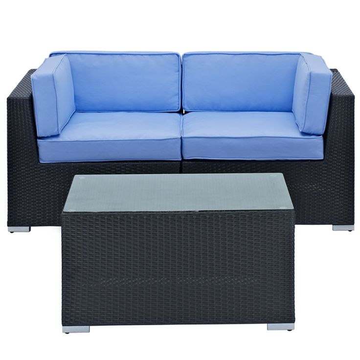Camfora 3 Piece Sectional Set #themodernsource #modern #homedecor #outdoorfurniture #interiordesigning #details  www.modern-source