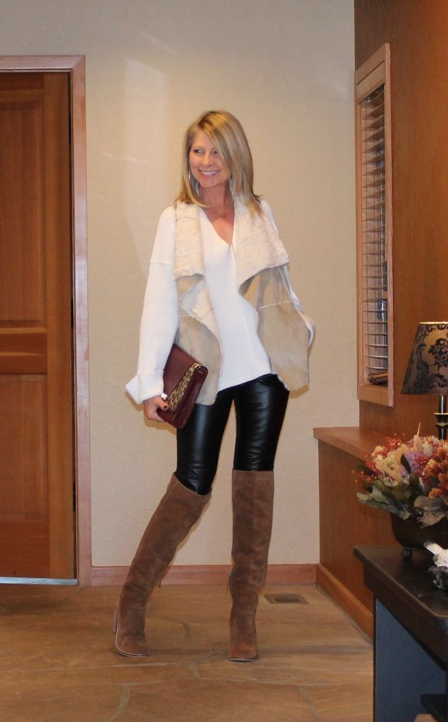 How I Wear Leather Leggings https://www.northwestmountainliving.com/new-blog-3/2017/10/13/how-i-wear-leather-leggings