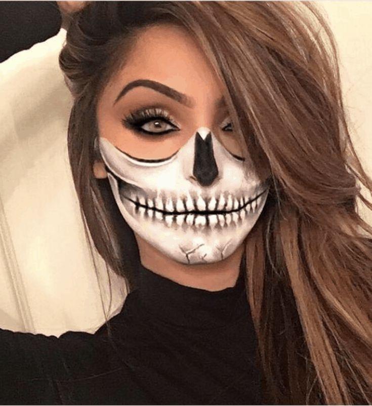 13 Straightforward Halloween Make-up Concepts to Attempt