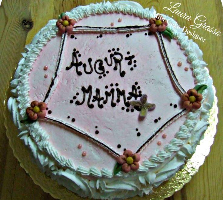 Torta stile Thun per il compleanno di una mamma ...
