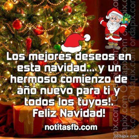 Feliz navidad y un prospero ano nuevo les desea la familia - Frases de feliz navidad y prospero ano nuevo ...
