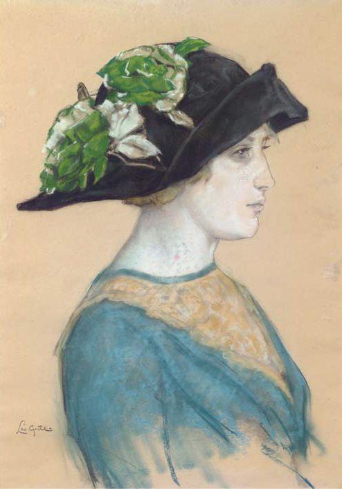 The Athenaeum - Portrait of An Overtoom (Leo Gestel - )