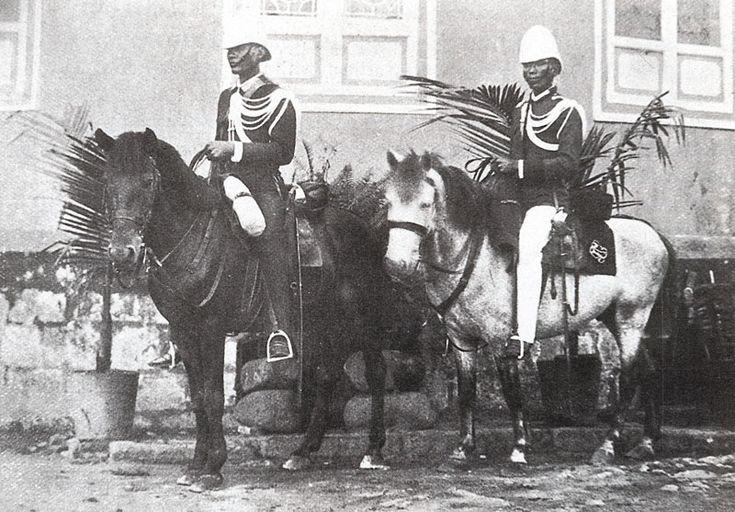 Guardia Civil en Filipinas 1898.