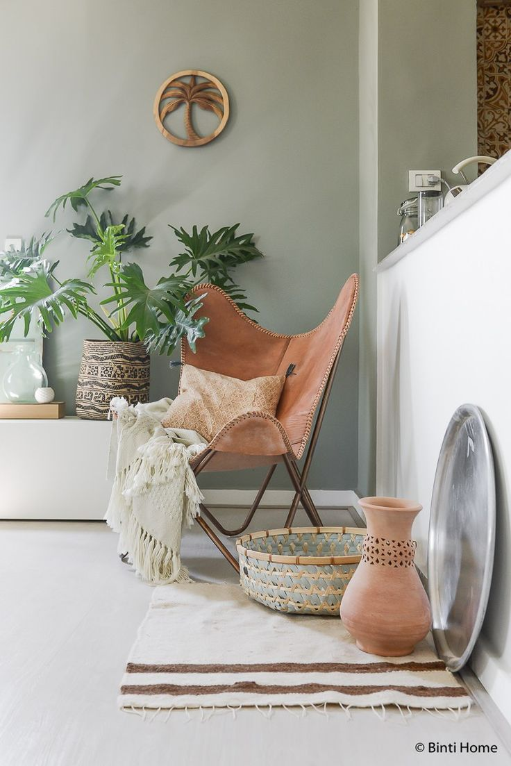 How to create ethnic bohemian interior style at home ©BintiHome