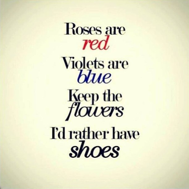 Use this for your Valentine's promo in your consignment or resale shop, says TGtbT.com, the Premier Site for Professional Resalers I'd rather have shoes!!