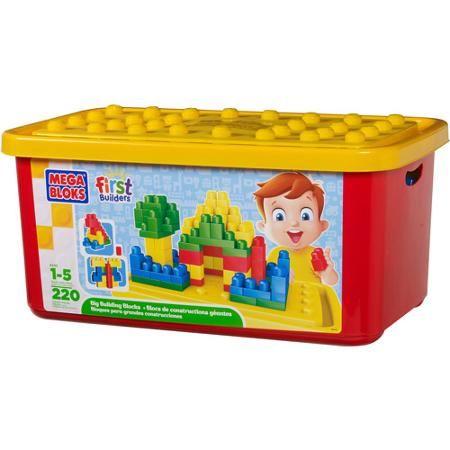 Mega Bloks, Bac de 220 pièces. 49.99$ Achetez-le: info@laboiteasurprisesdenicolas.ca