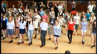 Flashmob Moscow (Russia) : Putting on the ritz 2012 - YouTube