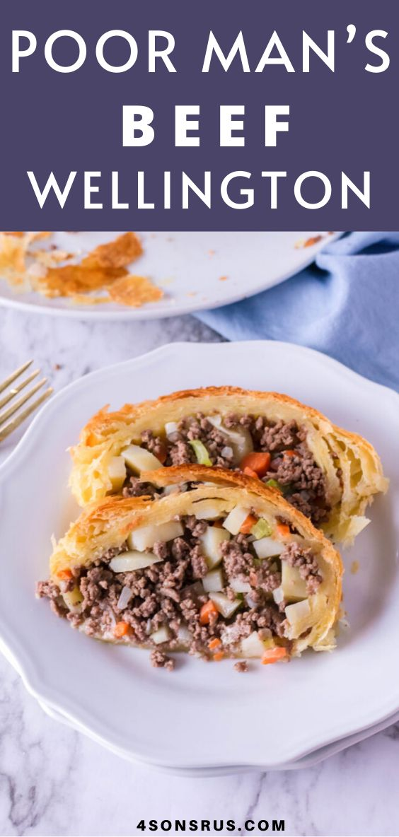 While a classic beef wellington makes for a delicious dinner, filet mignon tends to be out of my budget. We've swapped t…