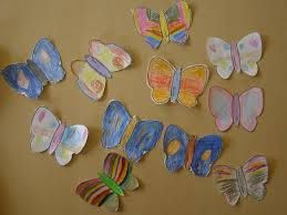 Work on the occasion of the butterfly..