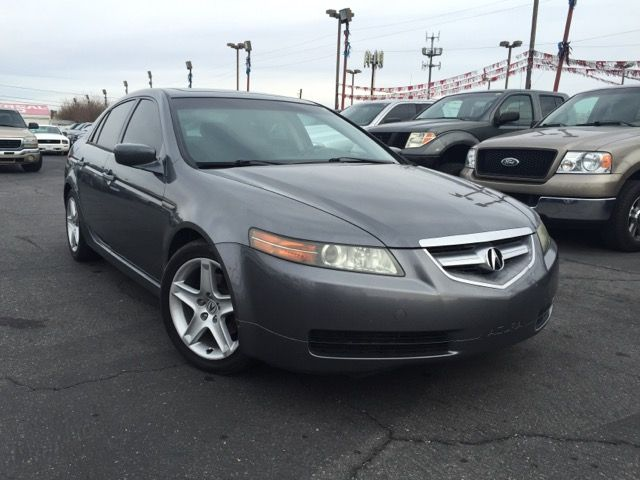 Used 2005 Acura TL 5-Speed AT with Navigation System for Sale in Las Vegas NV 89104 Mega Motors