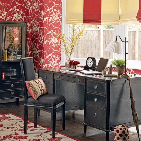 20 Best Traditional Small Home Office Design Ideas For: 61 Best Images About Ladies Home Office On Pinterest