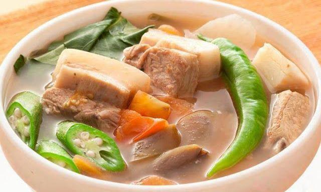 Pork Sinigang Filipino Recipe | Filipino Foods Recipes