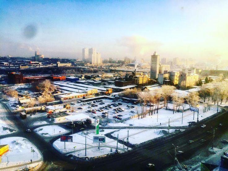 #всемдоброеутро☀️ #городпроснулся#cheliabinsk #командировканеотпуск #