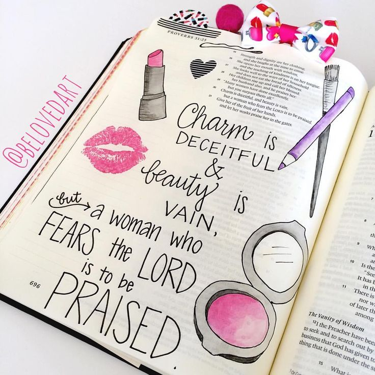 "Tiffany Sum on Instagram: ""Proverbs 31:30#handlettered with Micron pens and…"