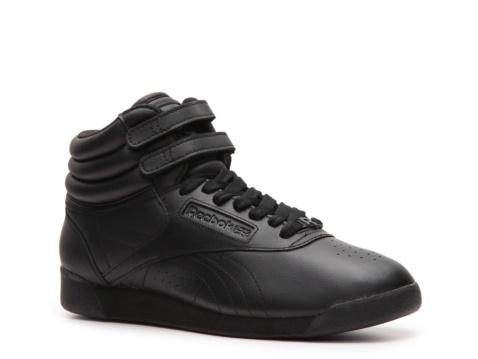 best service c3235 d60b7 Reebok+Women s+Freestyle+Classic+Hi+Lifestyle+Sneaker
