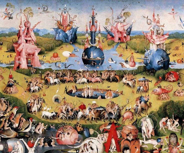 « Le Jardin des Délices n'aura plus de secrets pour vous grâce au documentaire interactif Jheronimus Bosch, the Garden of Earthly Delights créé par Pieter van Huijstee, commandé par la télévi…
