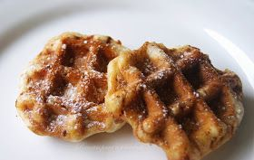Receitas para a Felicidade!: Rolos de Canela e Versão Waffles