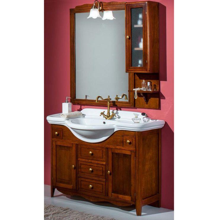 Mobile da bagno roxy in arte povera 105 cm opzionale la - Mobile bagno arte povera mondo convenienza ...