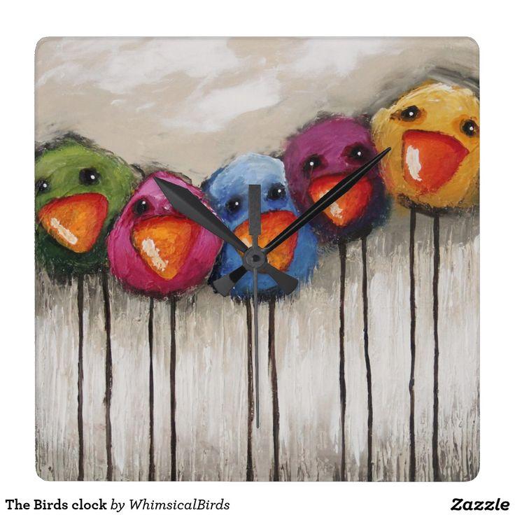 The Birds clock