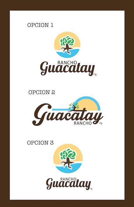 Propuestas para logotipo- Rancho Guacatay