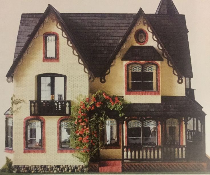 A miniature dolls house of my dreams. Maybe one day I will make it.