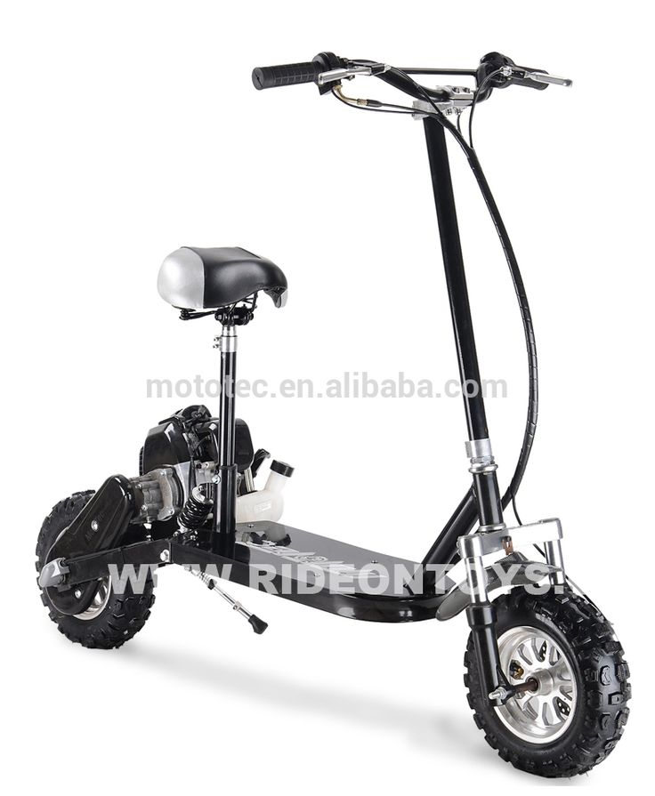 adult 2 stroke three speed 49cc engine gas scooter