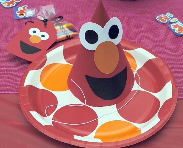 ELMO themed 2nd birthday party