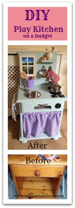 DIY Play Kitchen On A Budget