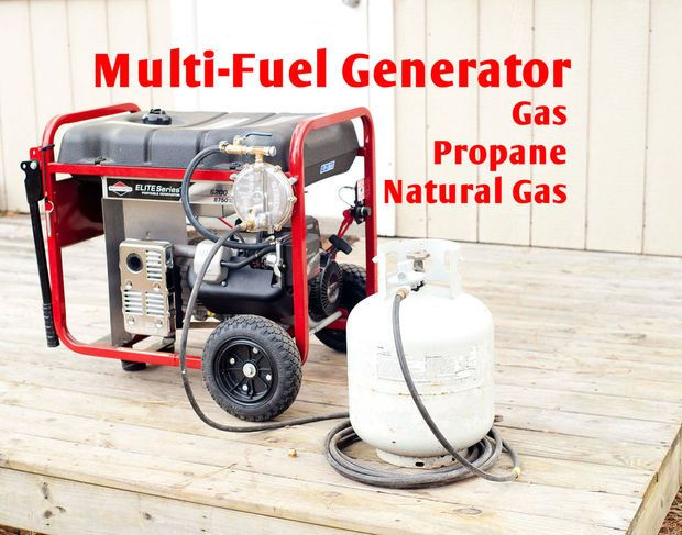 Convert your Generator into a Multi-Fuel Generator - Gas Propane NG