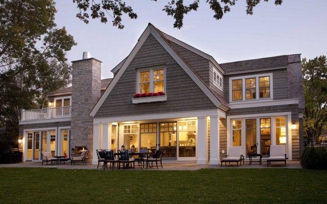 one story, for siding, on grey cedar shake house plans