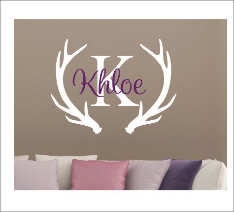Best Images About Monograms On Pinterest Deer Hunting Vinyls - Custom vinyl wall decals deer